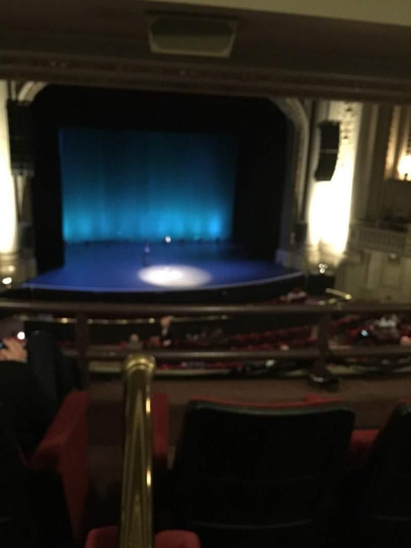 Majestic Theatre - Dallas, Abschnitt: Mezz S, Reihe: 3, Platz: 4