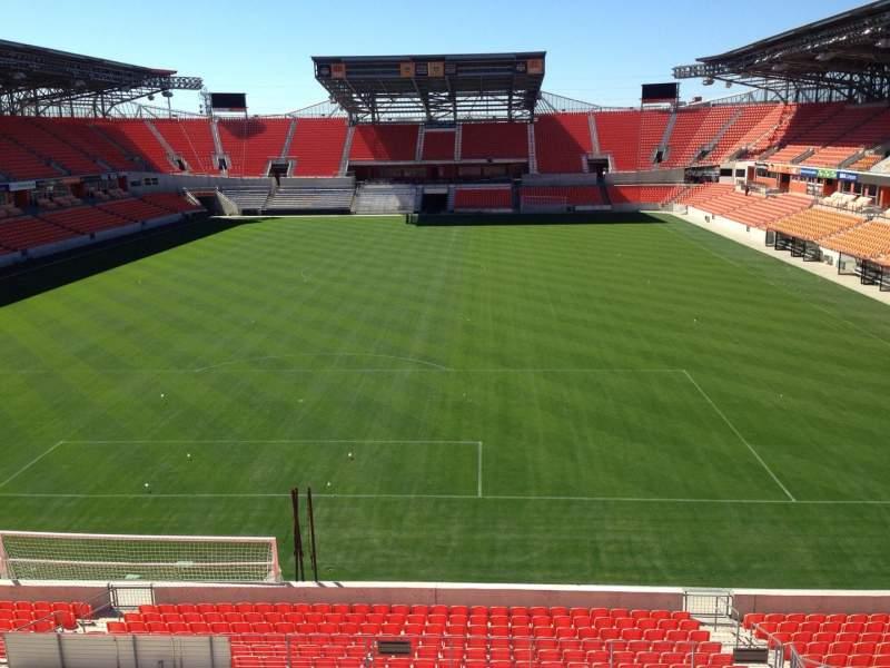 Sitzplatz-Aussicht für BBVA Compass Stadium Abschnitt 215 Reihe D Platz 14