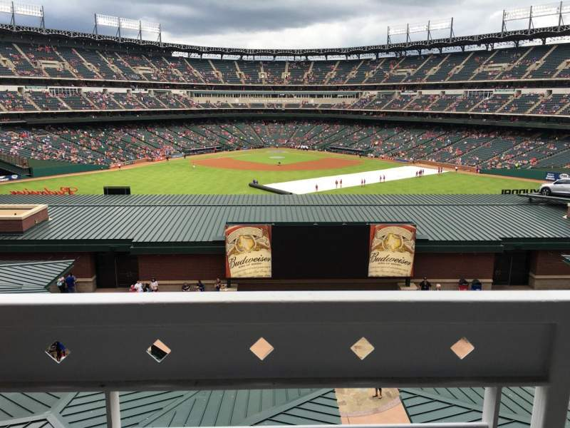 Globe Life Park in Arlington, Abschnitt: Middle Office Suites