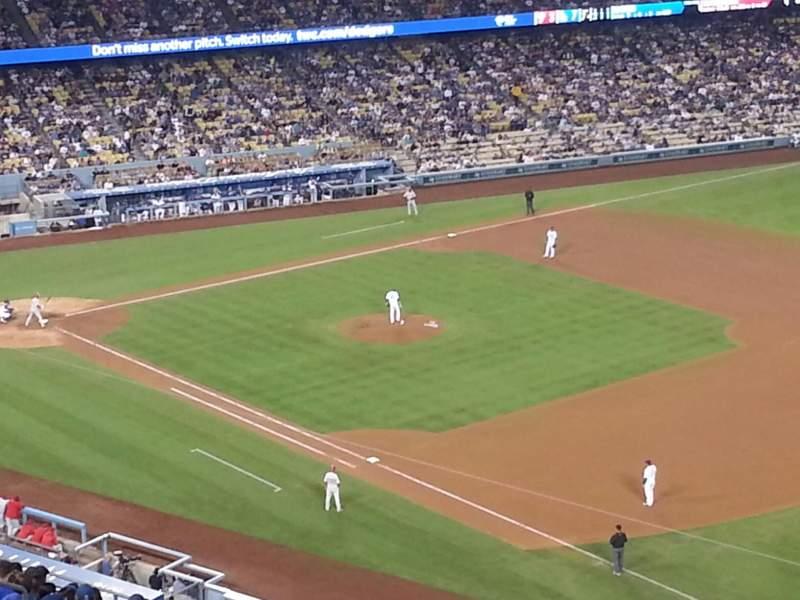 Dodger Stadium, Abschnitt: 38RS, Reihe: AA, Platz: 21
