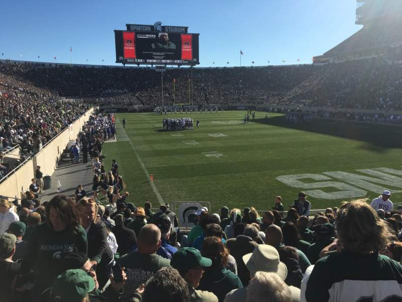 Sitzplatz-Aussicht für Spartan Stadium Abschnitt 3 Reihe 17 Platz 33