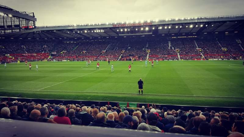 Sitzplatz-Aussicht für Old Trafford Abschnitt Sir Alex Ferguson Stand
