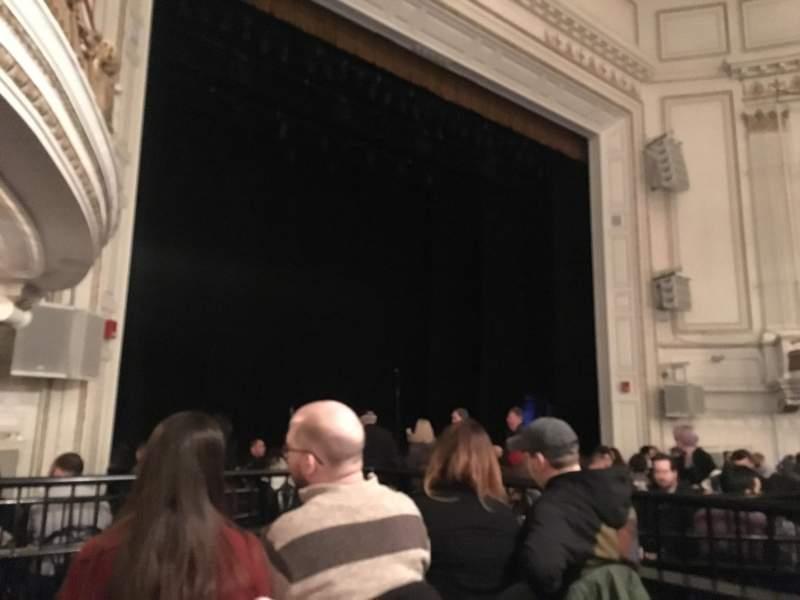 Sitzplatz-Aussicht für Wilbur Theatre