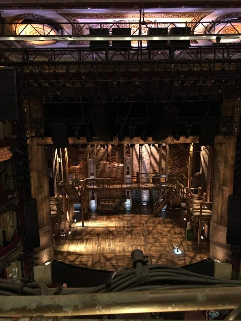 Sitzplatz-Aussicht für CIBC Theatre Abschnitt Balcony LC Reihe A Platz 401