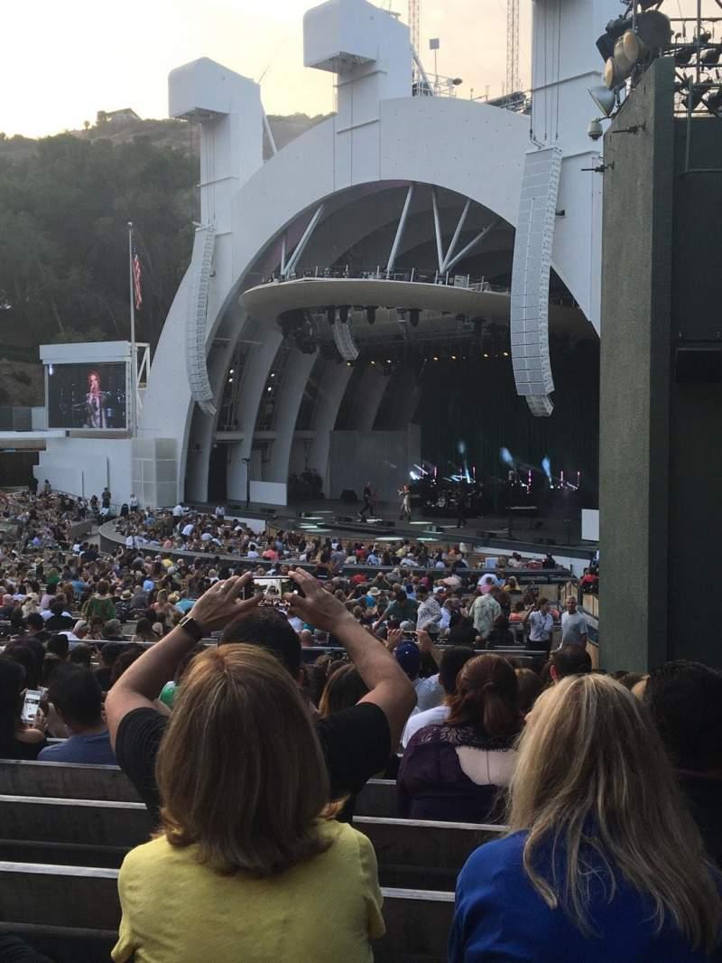 Hollywood Bowl, Abschnitt: D, Reihe: 13, Platz: 44