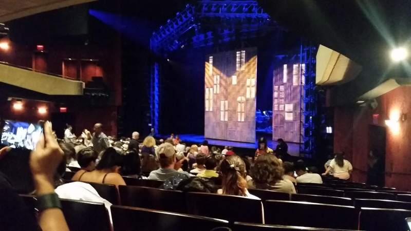 Marquis Theatre, Abschnitt: orchestra Right, Reihe: T, Platz: 28