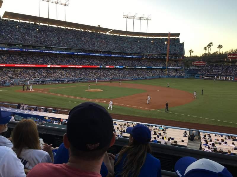 Dodger Stadium, Abschnitt: 144LG, Reihe: C, Platz: 5
