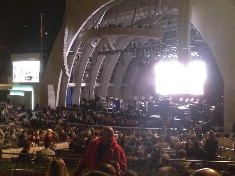 Hollywood Bowl, Abschnitt: D, Reihe: 6, Platz: 26