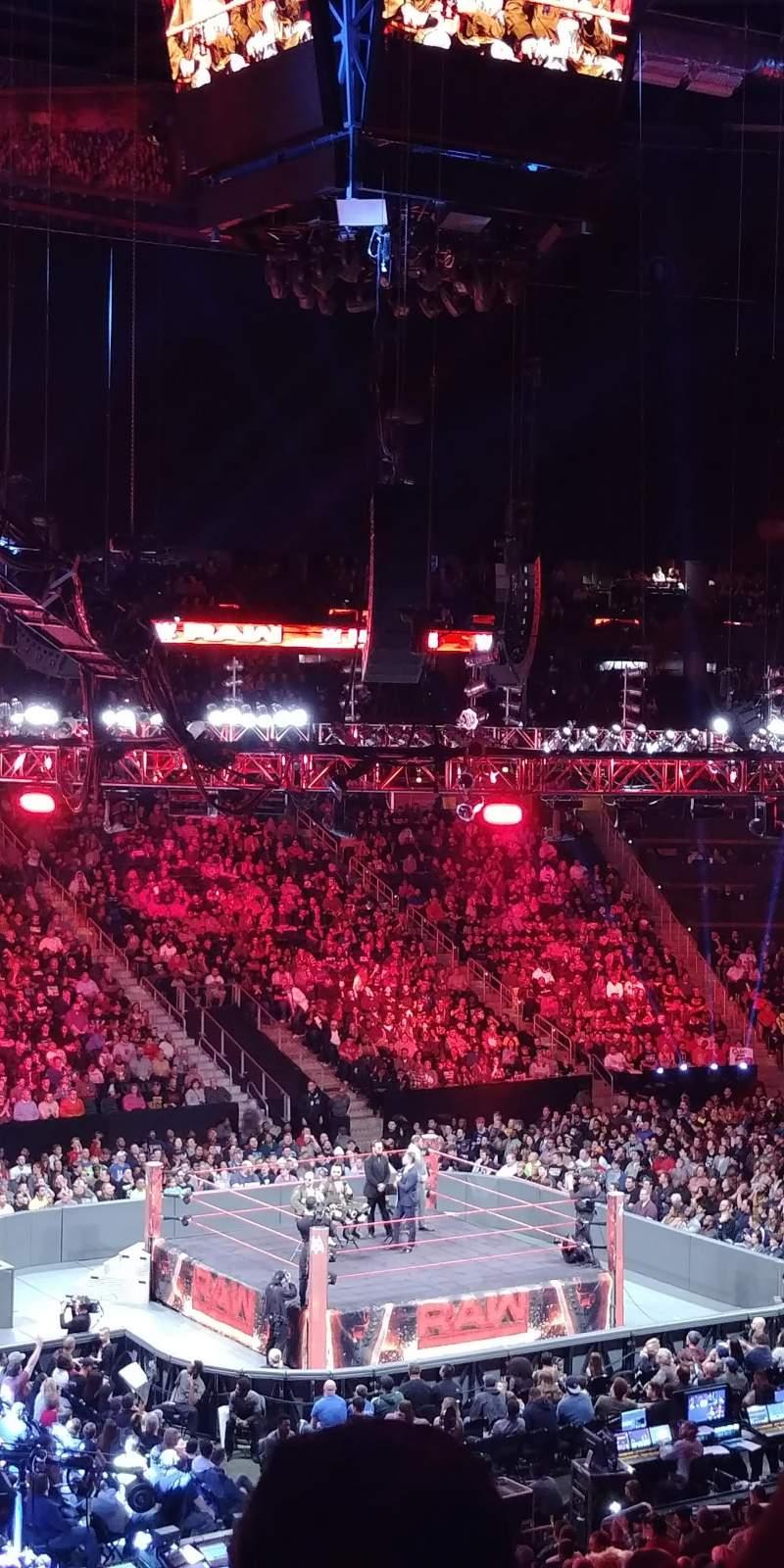 Philips Arena, Abschnitt: 213, Reihe: E, Platz: 17