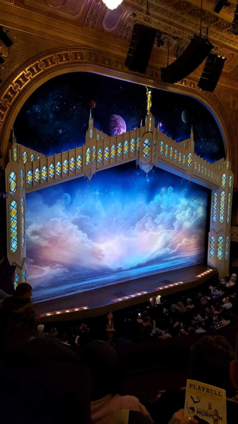 Eugene O'Neill Theatre, Abschnitt: Mezz left, Reihe: D, Platz: 127