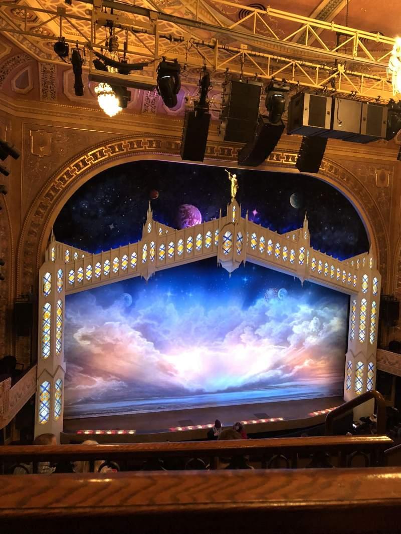 Eugene O'Neill Theatre, Abschnitt: Mezzanine, Reihe: E, Platz: 123