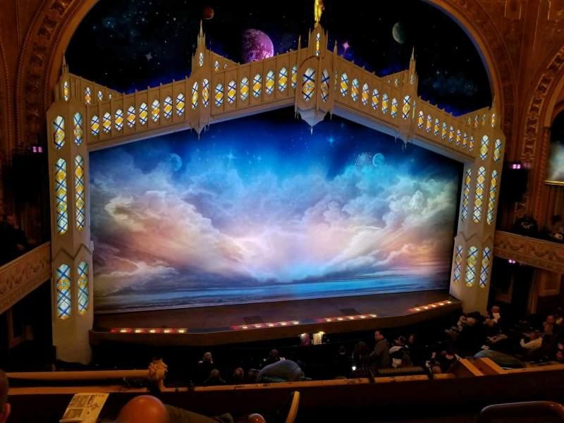 Eugene O'Neill Theatre, Abschnitt: Mezz Left, Reihe: C, Platz: 1