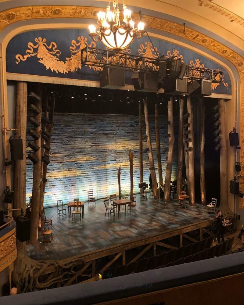 Gerald Schoenfeld Theatre, Abschnitt: Left Mezzanine, Reihe: C, Platz: 13