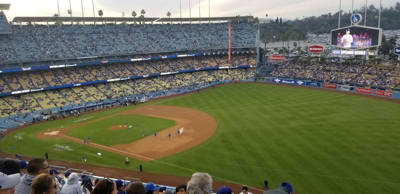 Dodger Stadium, Abschnitt: 36RS, Reihe: T, Platz: 20