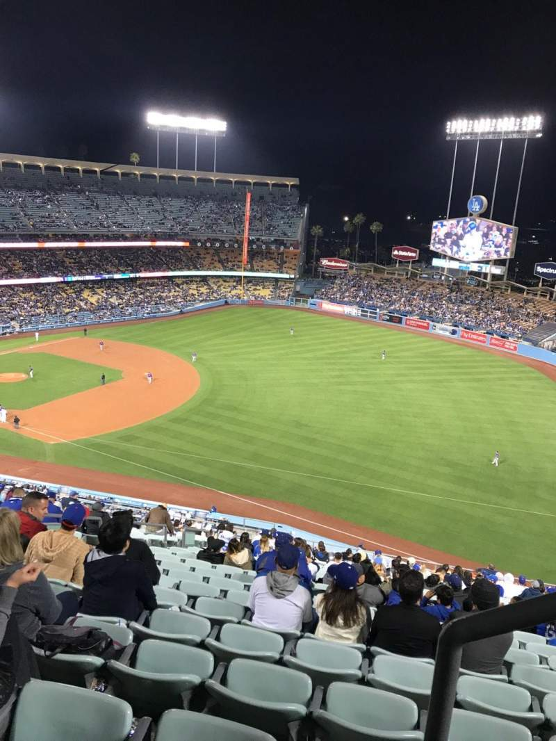 Dodger Stadium, Abschnitt: 34RS, Reihe: AA, Platz: 21