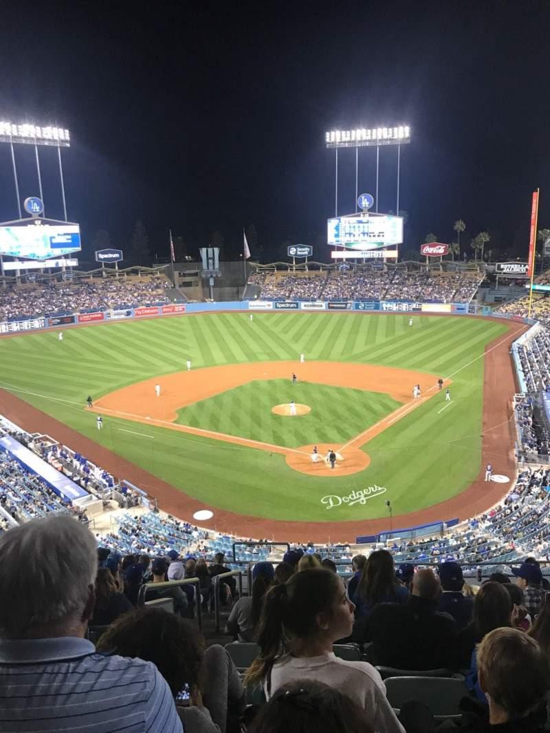 Dodger Stadium, Abschnitt: 3RS, Reihe: N, Platz: 22