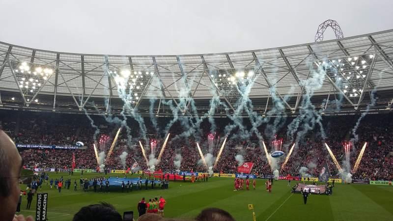 London Stadium, Abschnitt: 111, Reihe: 14, Platz: 225