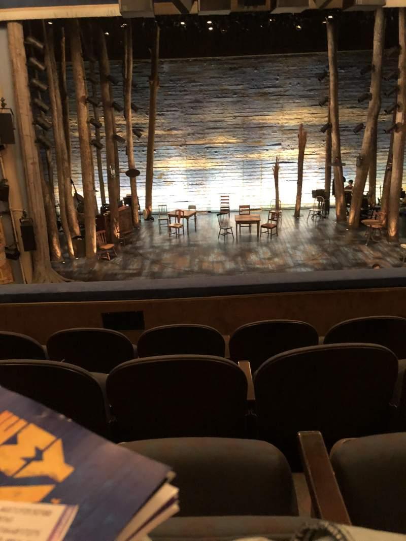 Gerald Schoenfeld Theatre, Abschnitt: CENTER MEZ, Reihe: D, Platz: 104