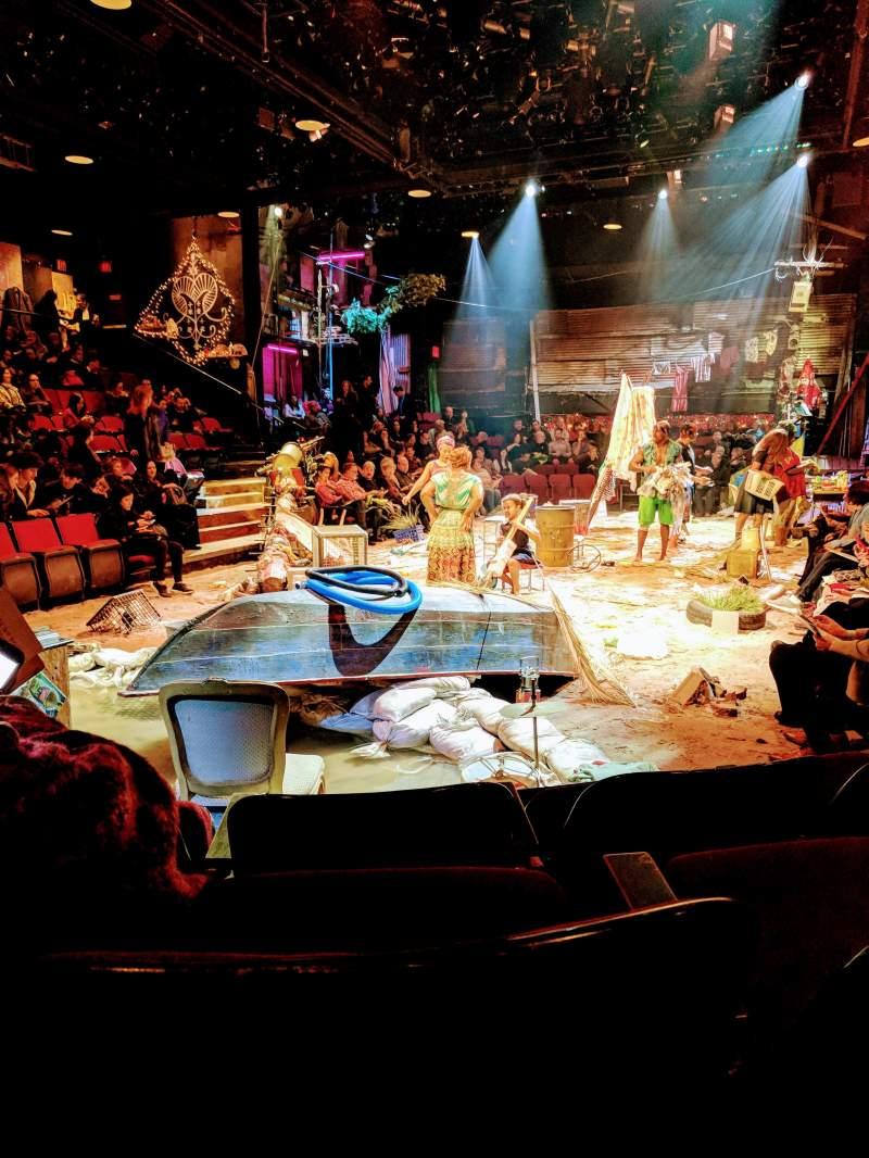 Circle in the Square Theatre, Abschnitt: Orch, Reihe: C, Platz: 106