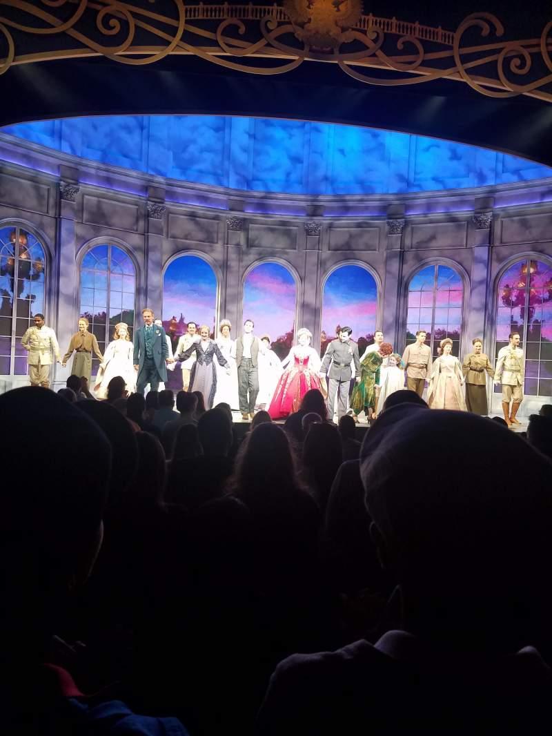 Broadhurst Theatre, Abschnitt: Orchestra, Reihe: K, Platz: 104