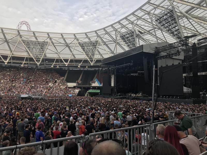 London Stadium, Abschnitt: 110, Reihe: 11, Platz: 263