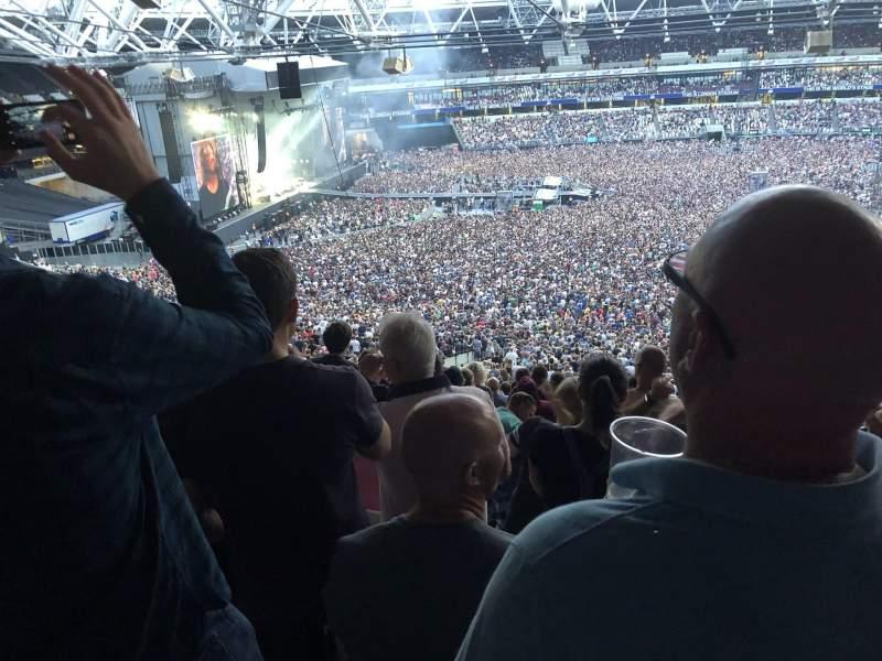 London Stadium, Abschnitt: 235, Reihe: 60, Platz: 242