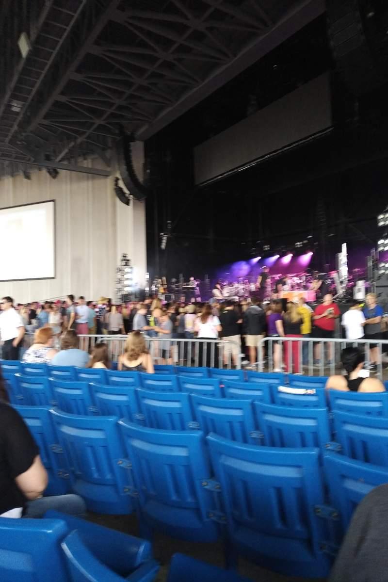 PNC Music Pavilion, Abschnitt: 1, Reihe: N, Platz: 20