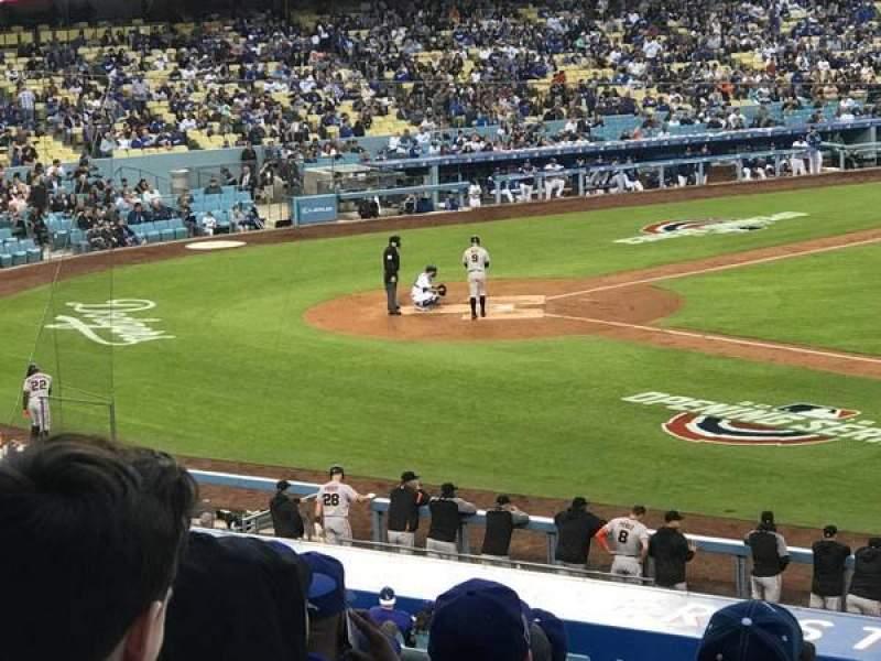 Dodger Stadium, Abschnitt: 140LG, Reihe: J, Platz: 19