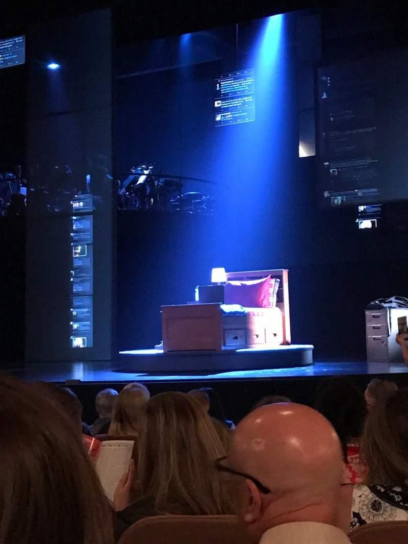Music Box Theatre, Abschnitt: Orchestra Right, Reihe: K, Platz: 10