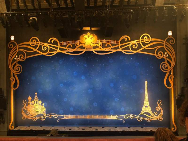 Broadhurst Theatre, Abschnitt: Mezz, Reihe: C, Platz: 109-111