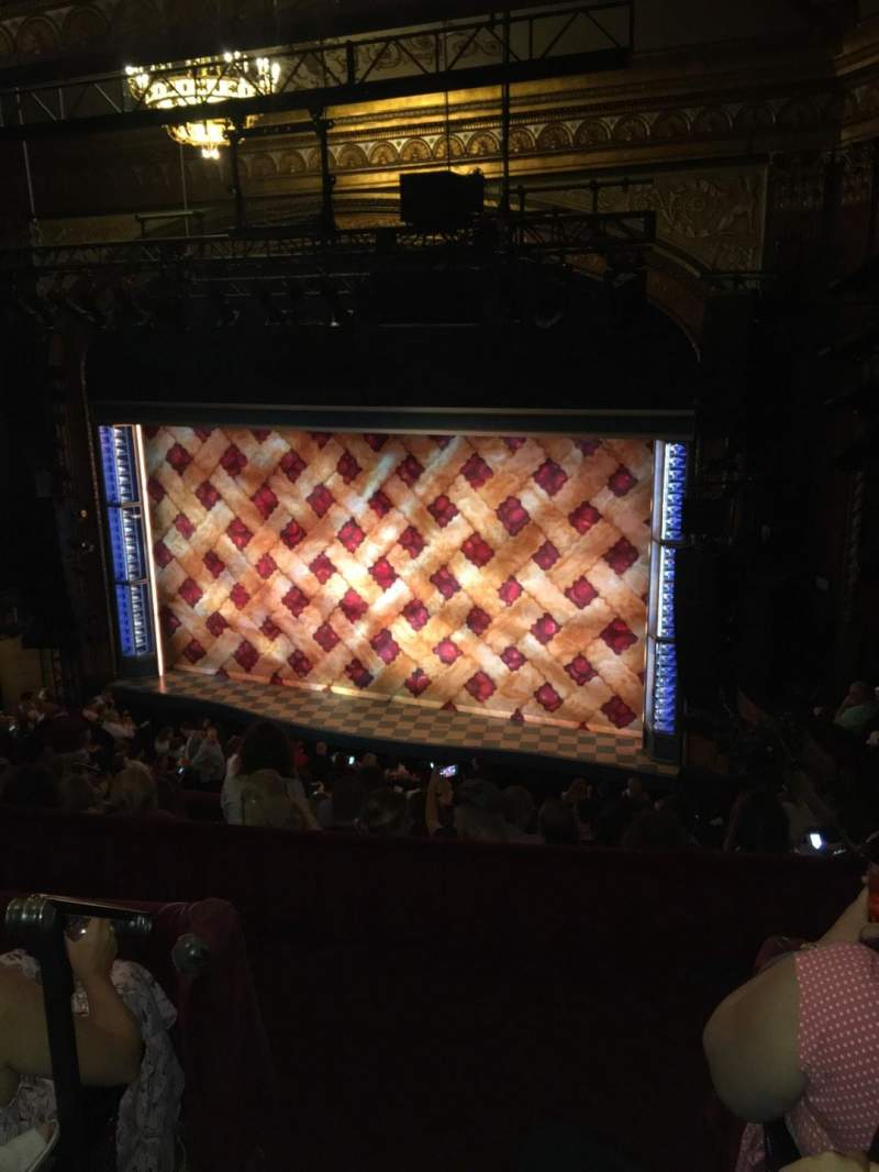 Brooks Atkinson Theatre, Abschnitt: Rear mezzanine Right, Reihe: G, Platz: 2