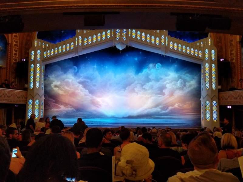 Eugene O'Neill Theatre, Abschnitt: Orchestra, Reihe: P, Platz: 105