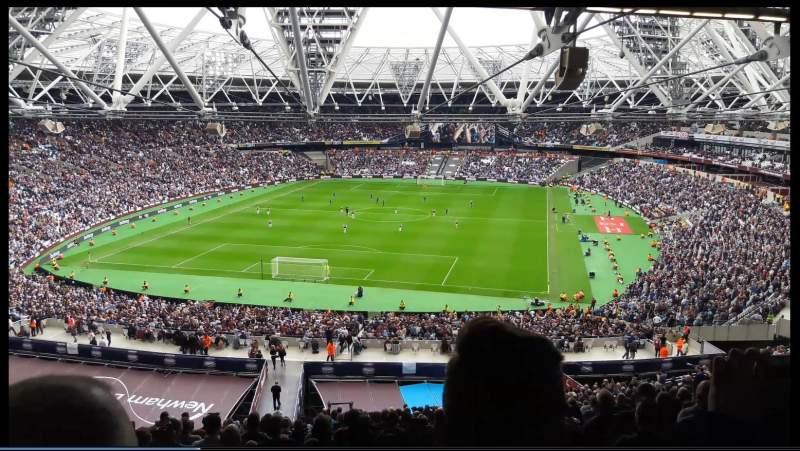 London Stadium, Abschnitt: 252, Reihe: 65, Platz: 795