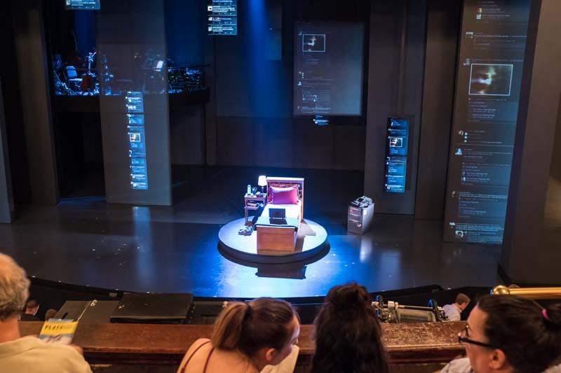 Music Box Theatre, Abschnitt: Mezzanine, Reihe: C, Platz: 102