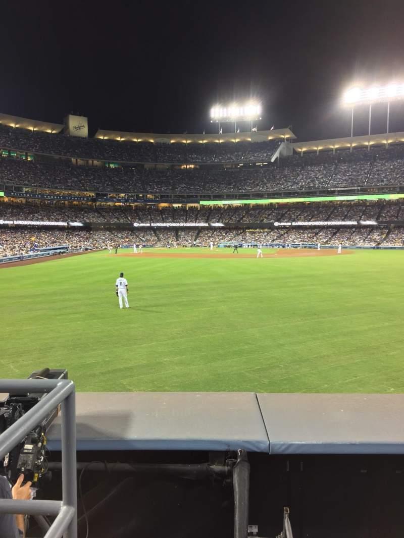 Dodger Stadium, Abschnitt: 304PL, Reihe: A, Platz: 1-5