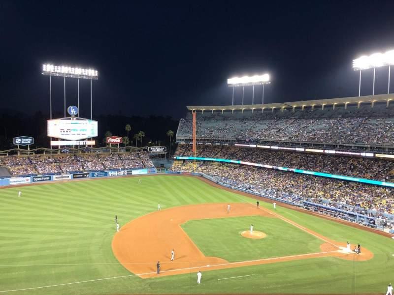 Dodger Stadium, Abschnitt: 23RS, Reihe: J, Platz: 10