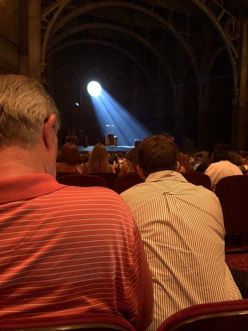 Lyric Theatre, Abschnitt: Orchestra, Reihe: L, Platz: 29