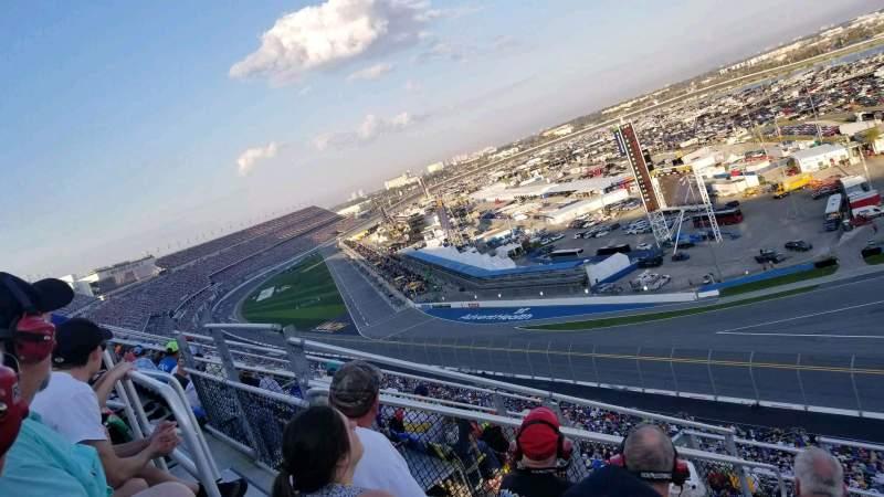 Sitzplatz-Aussicht für Daytona International Speedway Abschnitt 489 Reihe 29 Platz 12