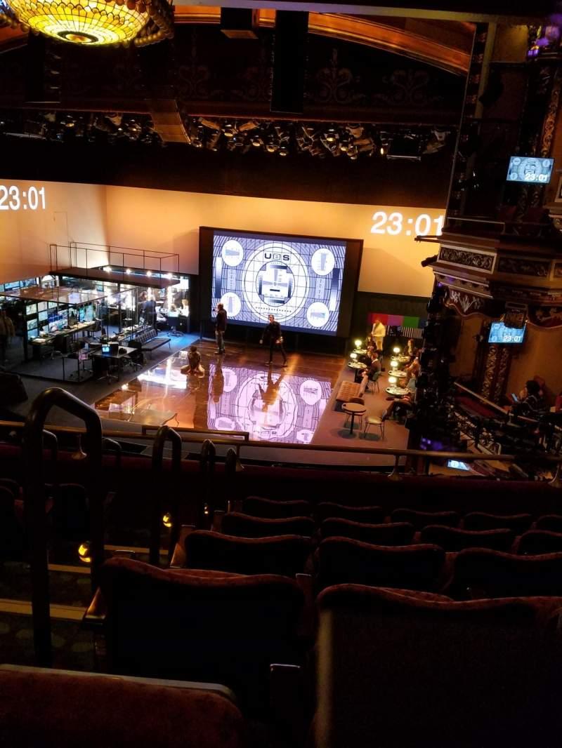 Sitzplatz-Aussicht für Belasco Theatre Abschnitt Mezzanine R Reihe F Platz 2-4