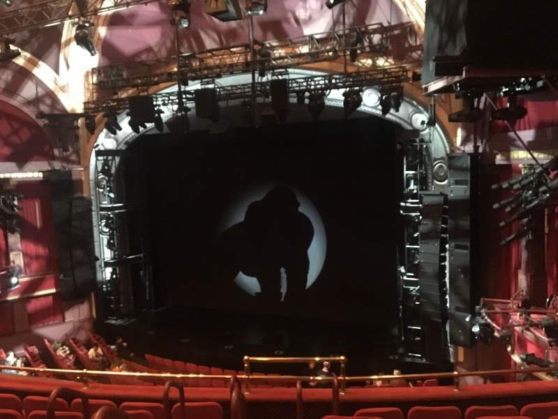 Sitzplatz-Aussicht für Broadway Theatre - 53rd Street Abschnitt Front Mezzanine R Reihe F Platz 5