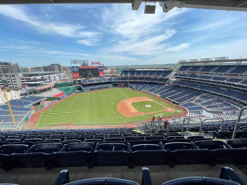 Sitzplatz-Aussicht für Nationals Park Bereich 405 Reihe N Platz 5