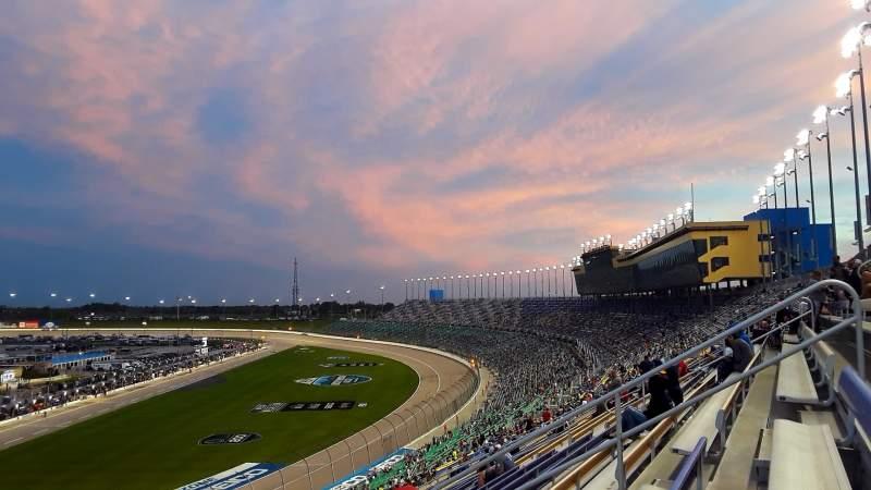 Sitzplatz-Aussicht für Kansas Speedway Bereich 256 Reihe 59 Platz 9