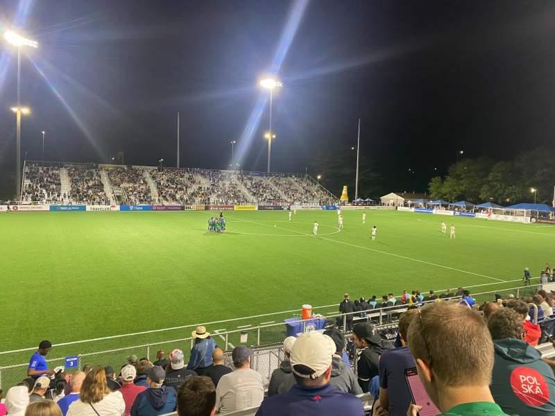 Sitzplatz-Aussicht für Dillon Stadium Bereich 3 Reihe P Platz 13