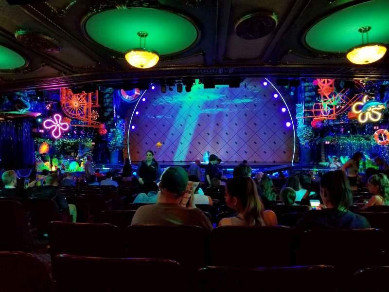 Palace Theatre (Broadway), Abschnitt: Orchestra, Reihe: X, Platz: 106