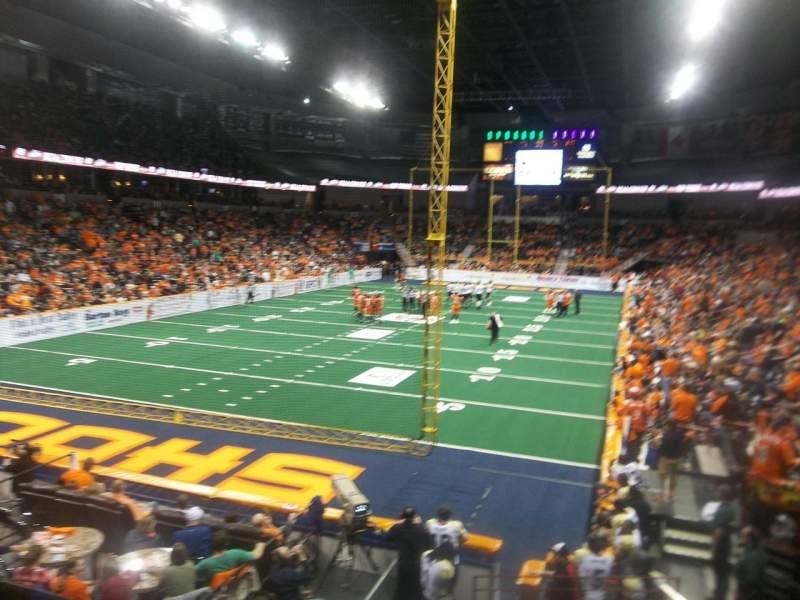 Spokane Arena, Abschnitt: 123, Reihe: T, Platz: 4