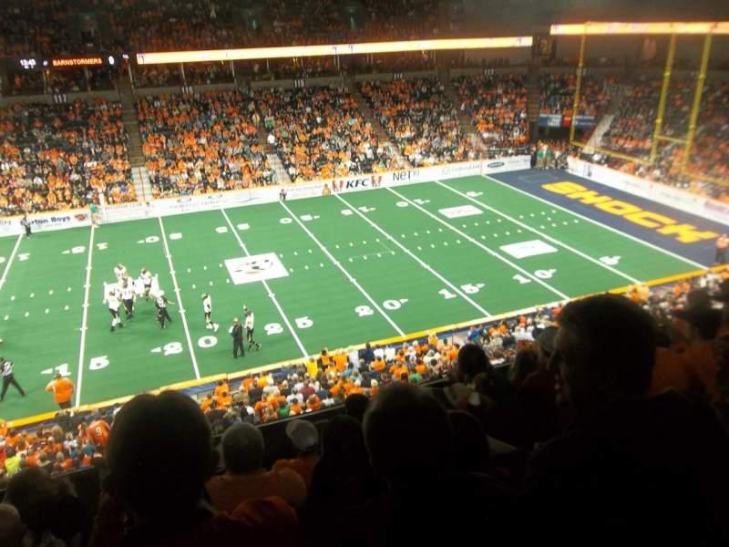 Spokane Arena, Abschnitt: 203, Reihe: K, Platz: 11
