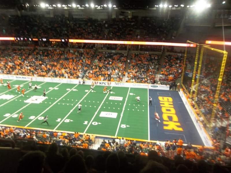 Spokane Arena, Abschnitt: 206, Reihe: M, Platz: 6