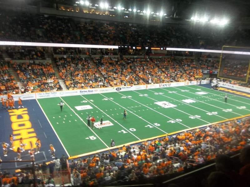 Spokane Arena, Abschnitt: 214, Reihe: M, Platz: 26