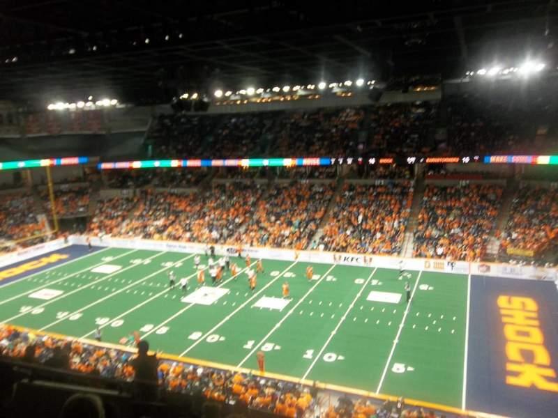 Spokane Arena, Abschnitt: 219, Reihe: L, Platz: 23
