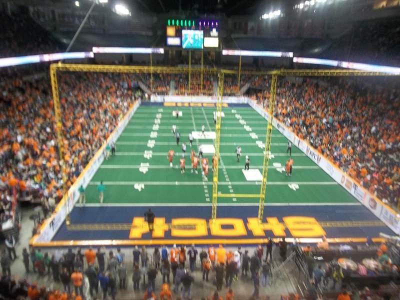 Spokane Arena, Abschnitt: 222, Reihe: L, Platz: 20